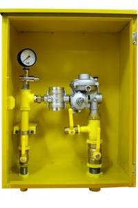 регулятор давления газа шкафной